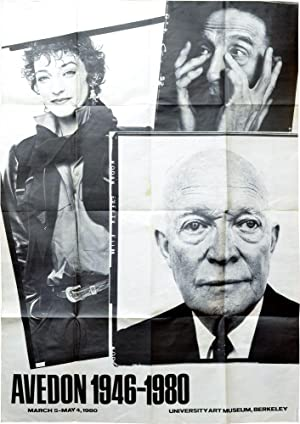 Avedon 1946-1980 (Original Exhibition Poster)