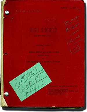 High Society (Original screenplay for the 1955: Beaudine, William (director);