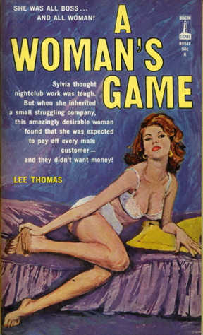 A Woman's Game (First Edition): Thomas, Lee