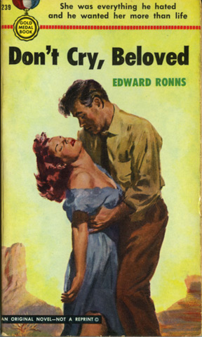 Don't Cry, Beloved (First Edition): Ronns, Edward