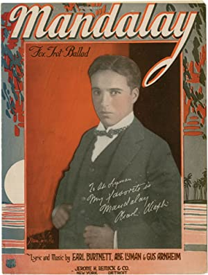 Collection of Charlie Chaplin related sheet music: Chaplin, Charlie; William A. Downs, Roy Barton, ...