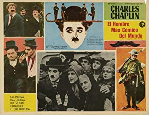 A Collection of 10 Mexican Lobby Cards featuring Charlie Chaplin (Original Mexican lobby cards)