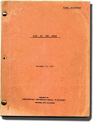 Sign of the Pagan (Original screenplay for the 1954 film)