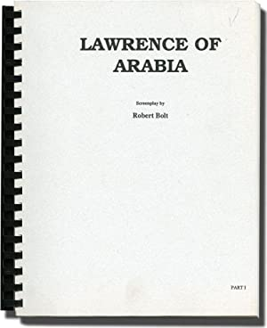 Lawrence of Arabia (Photocopied script for the 1962 film, part one)