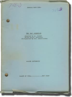 The Gay Caballero (Post-production script for the 1932 film)