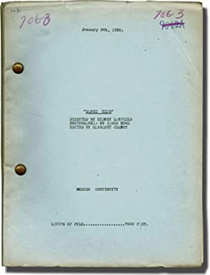 Dance Team (Post-production script for the 1932 film): Lanfield, Sidney (director); Edwin J. Burke ...