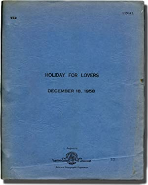 Holiday for Lovers (Original screenplay for the: Levin, Henry (director);