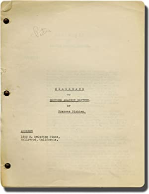 Stagehand, or Brother Against Brother (Original screenplay for an unproduced film): Pinkham, ...