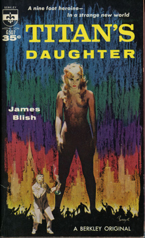 Titan's Daughter (Vintage Paperback): Blish, James
