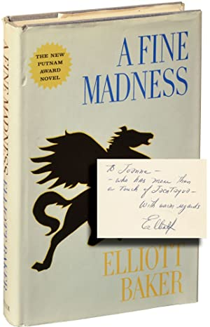 A Fine Madness (Hardcover, inscribed studio file copy)