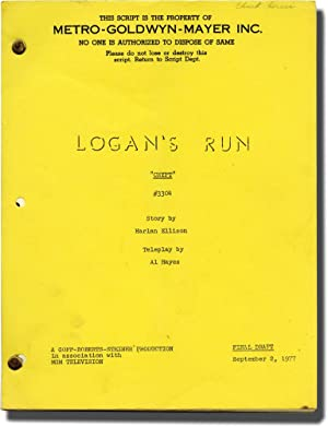 Logan's Run: The Crypt (Original screenplay for the 1977 television episode, crew member'...