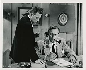 The Dark Past (Collection of 3 photographs from the 1948 film noir): Mate, Rudolph (director); Van ...
