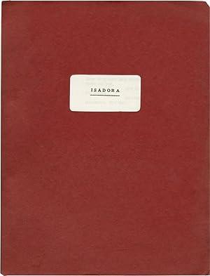 Isadora (Original screenplay for the 1968 film): Reisz, Karel (director); Melvyn Bragg, Margaret ...