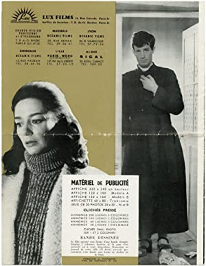 Leon Morin, pretre [priest] (Original French promotional book 1961 film): Melville, Jean-Pierre (...