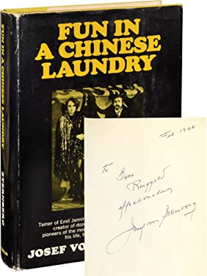 Fun in a Chinese Laundry (Signed First Edition, copy belonging to actor Gene Ringgold)