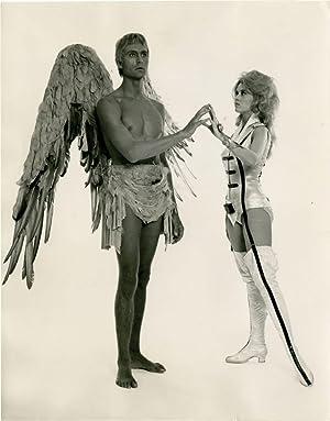 Barbarella (Original still photograph from the 1968 film): Vadim, Roger (director); Jane Fonda (...