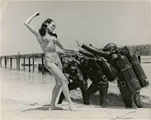 Thunderball (Original candid press photograph from the 1961 film)