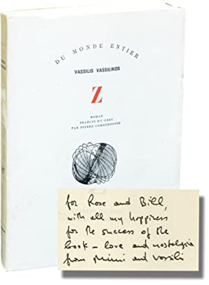 Z (First French Edition, inscribed to William Styron)