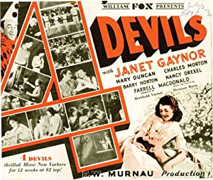 4 Devils [Four Devils] (Original herald from the 1928 film)