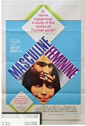 Masculin/Feminin [Masculin feminin, Masculine Feminine] (Original poster: Godard, Jean-Luc (director,