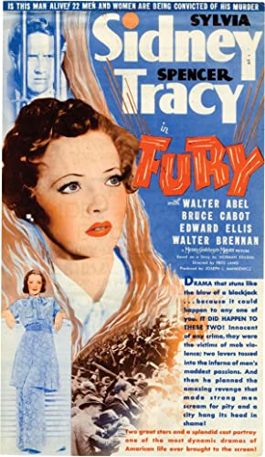 Fury (Original US herald for the 1936 film): Lang, Fritz (director, screenwriter); Bartlett Cormack...