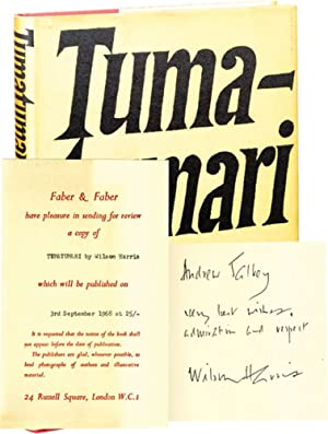Tumatumari (First UK Edition, review copy, inscribed to novelist Andrew Salkey)
