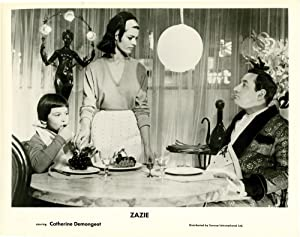 Zazie dans le métro (Collection of 3 photographs from the 1960 film): Malle, Louis (director...