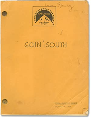 Goin' South (Original screenplay for the 1978 film, actress Anne Ramsey's working copy)