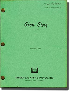 Ghost Story (Original screenplay for the 1981 film, Clair Mulkey's copy)