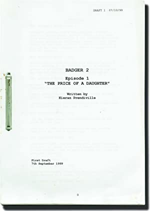 "Badger Season 2: ""The Price of a Daughter"" and ""Only Ewe"" (Original screenplays..."