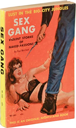 Sex Gang (First Edition): Vintage Paperbacks] Ellison,