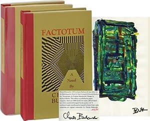 Factotum (One of 75 signed copies with original artwork): Bukowski, Charles