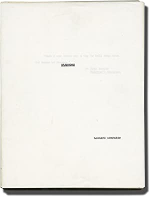 Hardcore (Original manuscript for the 1979 novelization of the 1979 film): Schrader, Paul (director...