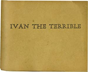 Ivan the Terrible (First Edition, one of handmade 100 copies)