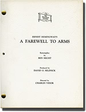 A Farewell to Arms (Original Screenplay for the 1957 film)