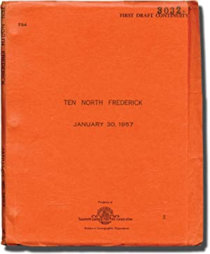 Ten North Frederick (Original screenplay for the 1958 film)