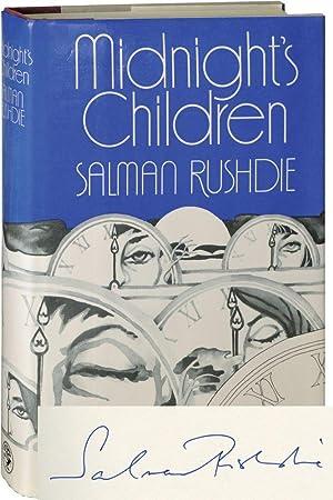 Midnight's Children (First UK Edition, signed): Rushdie, Salman