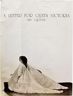 A Letter for Queen Victoria: An Opera (Original poster for the 1975 opera)