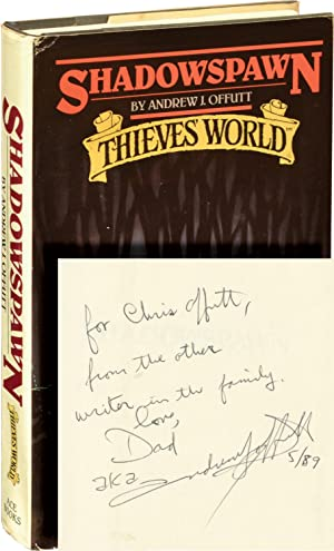 Thieves' World: Shadowspawn (Book Club Edition, Inscribed to the author's son, Chris Offutt)