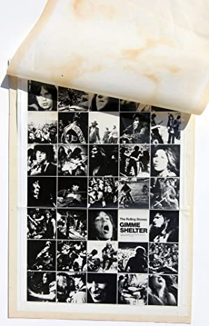 Gimme Shelter (Original maquette, proof, and final print of a variant poster for the 1970 film)