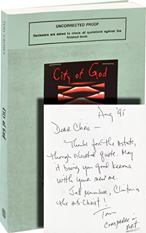 City of God (Uncorrected Proof, inscribed to Chris Offutt)
