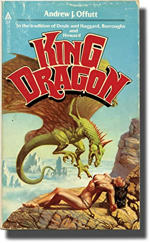 King Dragon (First Edition, inscribed to the author's son, Chris Offutt): Offutt, Andrew J.
