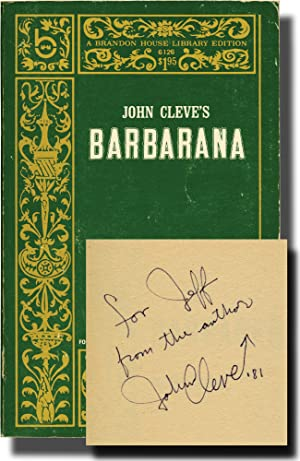 Barbarana (Signed First Edition): Offutt, Andrew J. writing as John Cleve