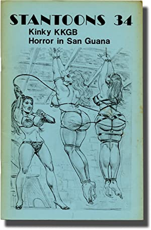 Stantoons 34: Kinky KKGB / Horror in San Guana (First Edition): Offutt, Andrew J. writing as ...