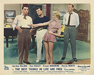 The Best Things in Life Are Free (Collection of 5 photographs from the 1956 film): Curtiz, Michael ...
