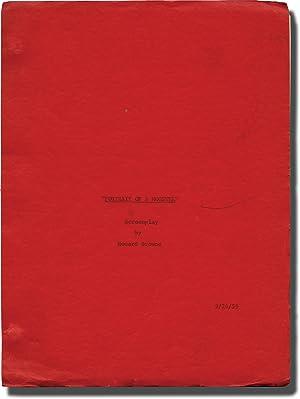 Portrait of a Mobster (Original screenplay for: Pevney, Joseph (director);