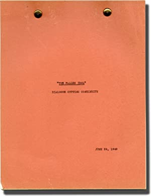 The Fallen Idol (Post-production script for the US release of the 1948 film): Reed, Carol (director...