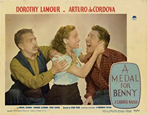 A Medal for Benny (Set of 8 lobby cards for the 1945 film)