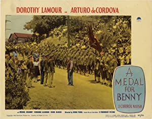 A Medal for Benny (Set of 8 lobby cards for the 1945 film): Steinbeck, John (story); Irving Pichel ...