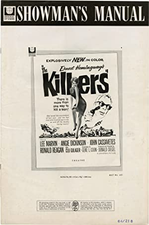 The Killers (Original Pressbook for the 1964 film)